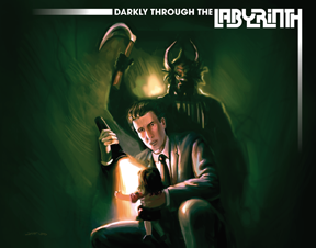 Darkly Through the Labyrinth Cover